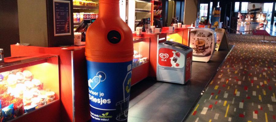 PETman – PET palackok hatékony szelektív gyűjtése. Látványos, gyors és egyszerű!