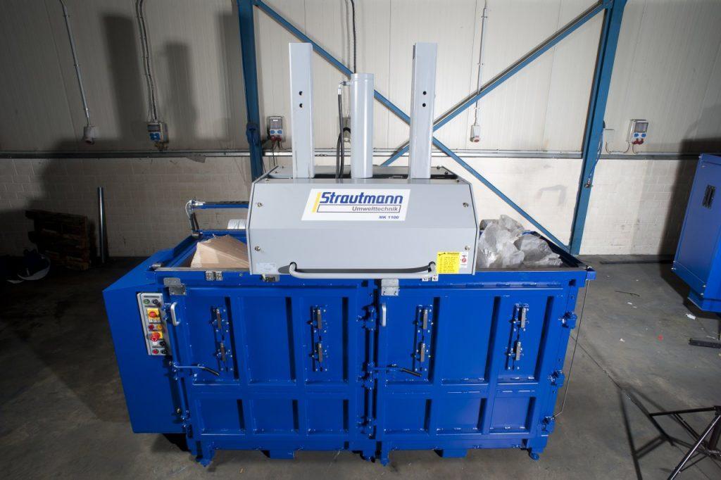 mk1100 hulladék bálázó