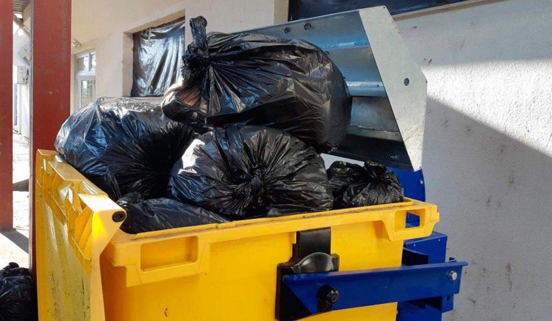 Fürdő kommunális hulladékának kezelése