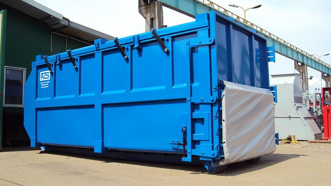 ZENTEX KPHS 1900 mozgó tetős konténer 2